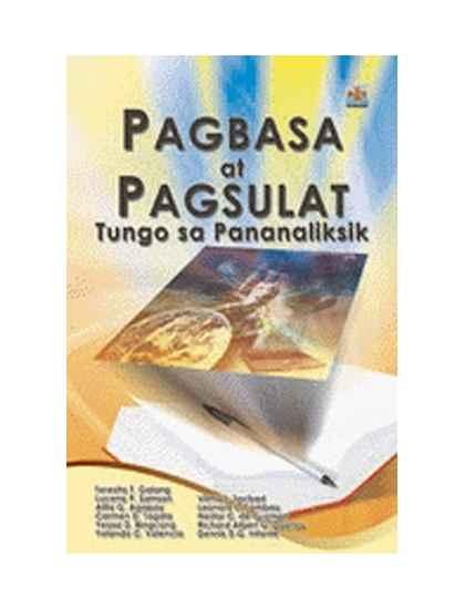 Pagbasa at Pagsulat Tungo sa Pananaliksik