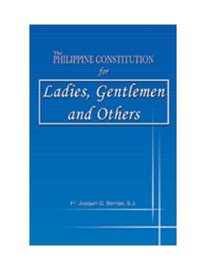 The Philippine Constitution for Ladies, Gentlemen and Others