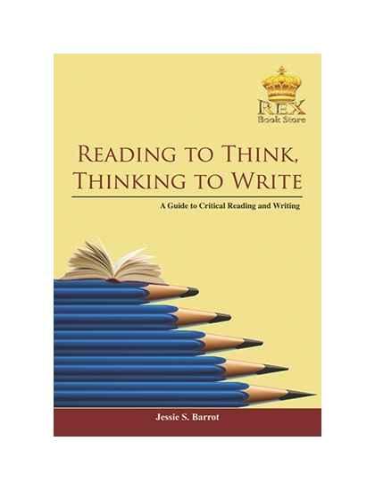 Reading to Think, Thinking To Write